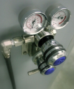 Gas panels and pressure regulators